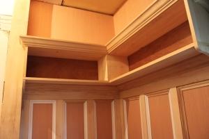 Cubbies Above, Shelf Higher Still...